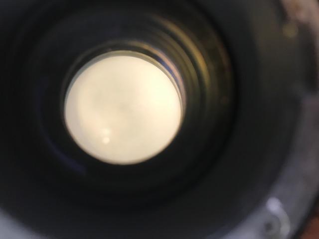 レンズ クモリ